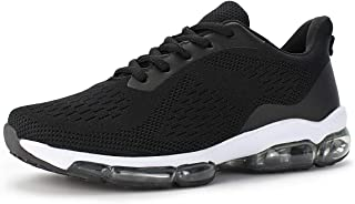 Women's Air Cushion Breathable Knit Walking Running Sneakers