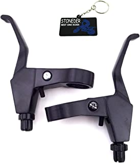 Stoneder Alliage Chrome 7//20,3/cm gauche droite Poign/ée leviers de frein pour 47/cc 49/cc MINI MOTO Pocket Dirt bike enfants au gaz Scooter