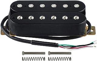 FLEOR Electric Guitar Double Coil Humbucker Pickups 52mm Ceramic Bridge Pickup - Black