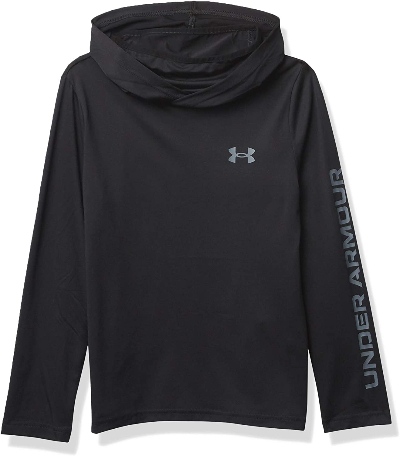 Under Armour Boys Ua Hoodie with Integrated Facemask