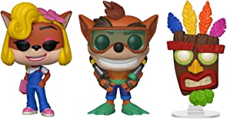 Funko Pop! Games: Crash Bandicoot Series 2 Collectible Vinyl Figures, 3.75