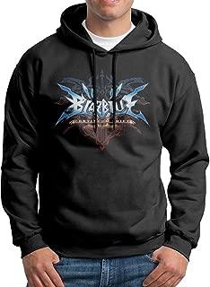 Ma Laaat Blazblue Continuum Shift II Logo Man's Sweatshirts Hoodie