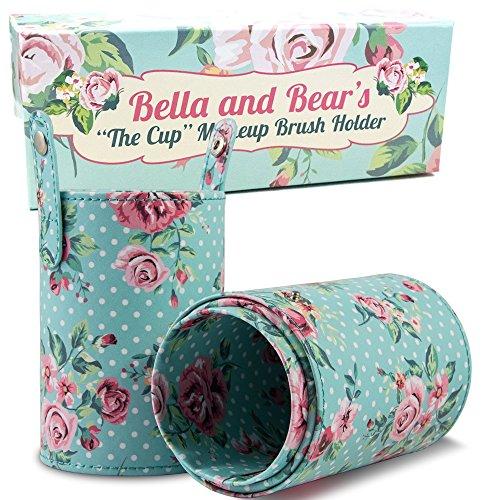 Make-up Bürstenhalter von Bella and Bear. Unsere Make-up Becherhalter sind ein perfekter Begleiter für Ihren Make-up-Pinsel und Bürsten. Eine tolle Geschenkidee.