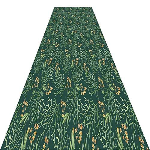 KXBYMX Halle Läufer Gangläufer/moderner Rutschfester Niederflorteppich/Flureingang schalldämmender Teppich/Wohnzimmergang Creme Teppich (Size : 60cm*9m)