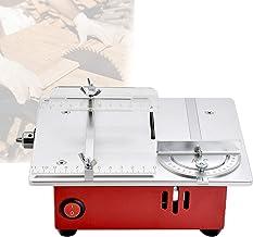 EnweKapu Mini Sierra De Mesa Circular, Banco De Trabajo Taller Pequeño Y Portátil Diseño De Precisión Fuerte Y Robusto, Sierra Electrica para Hecho a Mano Modelismo,A