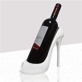 FLAIGO Étagère à vin sans retenue - Design créatif en forme de chaussure à talon haut - Support de rangement sur pied pour...