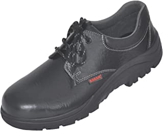 Karam Leather Safety Shoes FS-02 - Size 9, Black