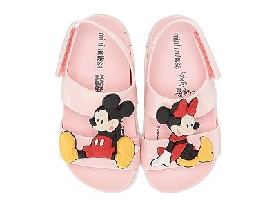 Mini Melissa Cosmic Sandal + Disney Twins (Toddler/Little Kid) (Pink) Girl