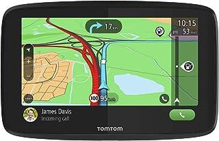 TomTom GPS para coche GO Essential, 6 pulgadas, con tráfico y prueba de radares gracias a TomTom Traffic, mapas de la UE, actualizaciones a través de WiFi, llamadas manos libres, soporte Click-Drive