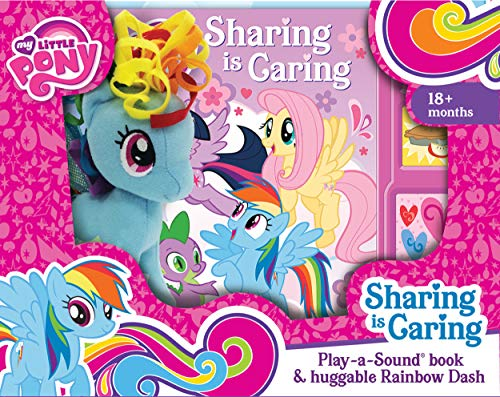 My Little Pony - Sharing is Caring Sound Book and Rainbow Dash Plush - PI Kids