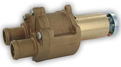 Jabsco 43210-0001 Marine Flexible Impeller Engine Cooling Replacement Pump (MerCruiser, Pully Drive, 1-1/4