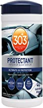 303 UV Protectant Wipes for vinyl, rubber, plastic, tires and finished leather, 40 ct.