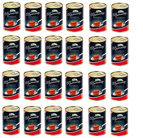 24x O'sarracino Pomodorini Kirschtomaten Tomaten sauce aus Italien dose 400 g