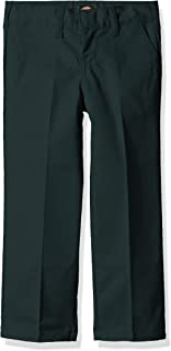 Boys' Flexwaist Flat Front Straight Leg Pant