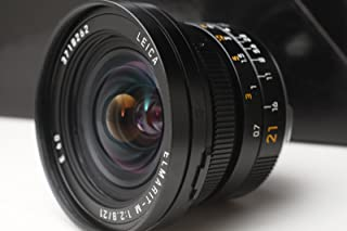 Leica 21mm f/2.8 Elmarit-M Aspherical Super Wide Angle Manual Focus Lens (11135)