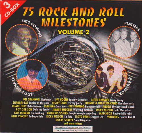 75 Rock and Roll Milestones. Volume 2