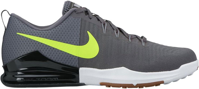 Nike Herren Laufschuh NIKE ZOOM TRAIN ACTION grau   schwarz   gelb