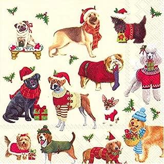 Best christmas dog napkins Reviews