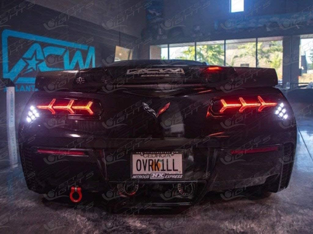 Safety and trust 2014-2019 C7 Corvette Morimoto Lights Tail LED Aventador-Style Genuine Free Shipping