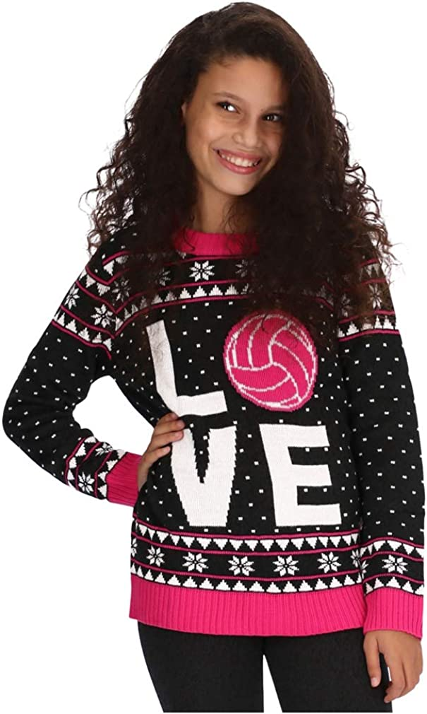 Tstars Volleyball Team Holiday for Gift Sweater Playe Latest item Direct store