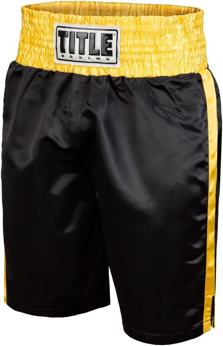 Title Edge Boxing Trunks : Sports & Outdoors