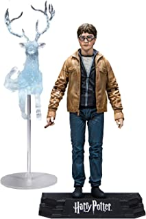 McFarlane Toys 13301 Potter Deathly Hallows Pt Ii Harry 7In Action Figure, Multi