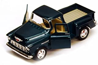 1955 Chevy Stepside Pickup Truck, Green - Kinsmart 5330/6D - 1/32 scale Diecast Model Toy Car (Brand New, but NO BOX)