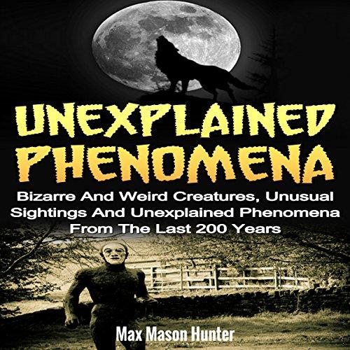 Unexplained Phenomena audiobook cover art