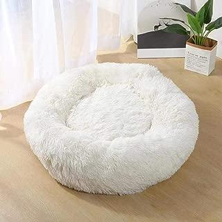 XIANGEN Kennel Cat Litter Round Plush Nest Mat Cat Mattress Small and Medium Dog Soft and Warm Pet Nest