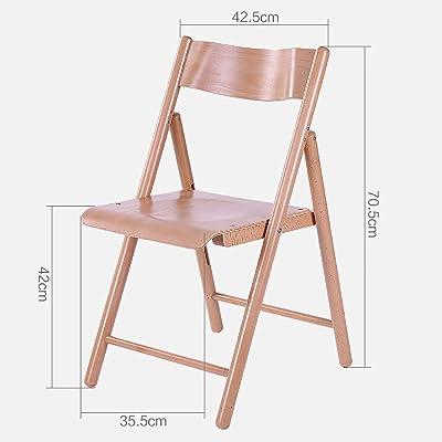 MLhky sedie Pieghevoli Sedie di Legno Pieghevoli Sedie da