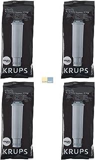 Krups F088Claris–Filtre détartrant pour machine à café (lot de 4)