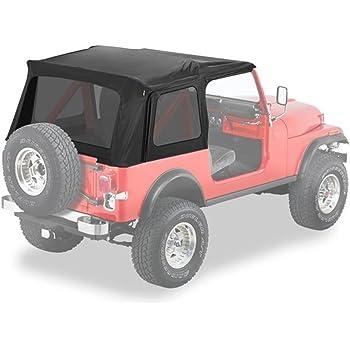 Bestop 5459915 Black Denim Supertop Classic for 1976-1995 CJ7/Wrangler