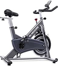 Best MaxKare Magnetic Exercise Bike Belt Drive Stationary Indoor Cycling Bike with High Weight Capacity Adjustable Magnetic Resistance w/LCD Monitor Tablet Holder (Gray) … Review