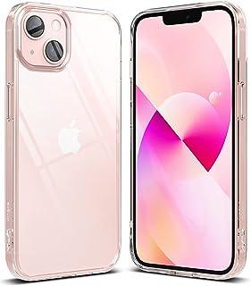 Ringke Fusion Compatibel met iPhone 13 Case, Transparant Schokbestendig Bumper Hoesje - Clear