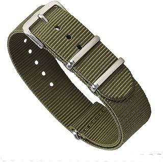 STYLELOVER Premium NATO Watch Bands Nylon Straps Width 16mm 18mm 20mm 22mm 24mm