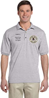 US Air Force Personalized Custom Embroidered Men's Polo Shirt