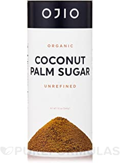 Ojio Organic Coconut Palm Sugar, Unrefined, 12 oz (340 g)