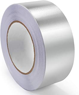 Bligo Aluminum Foil Tape, 1.88 Inch x 150 Feet, for HVAC, Insulation, Sealing or Patching Hot and Cold Air Ducts, Metal Repair, Heat Resistant