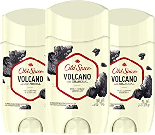 Old Spice Antiperspirant & Deodorant for Men, Invisible Solid, Volcano With Charcoal Scent, Inspired by Natural Elements, ...