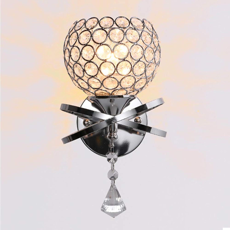 WM Moderne led kristall Wandleuchte acryl kristall Chrom Silber Wandleuchte nachttisch, Wohnzimmer, esszimmer, Schlafzimmer und Flur e27