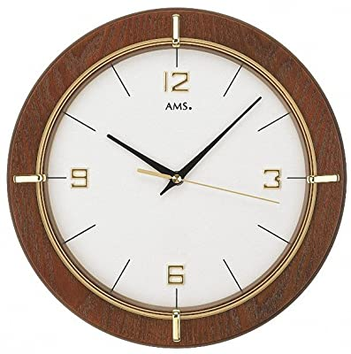 AMS Modern Wall Clock with Quartz Movement from W9432