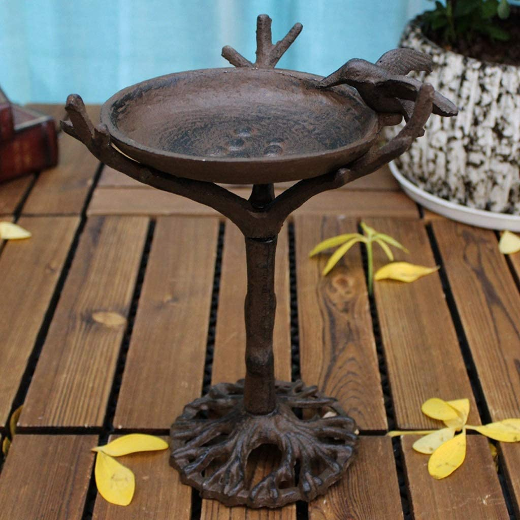 latest Popular shop is the lowest price challenge YHYHNE Cast Iron Crafts Bird Candlestick Home 24x14cm Decoration