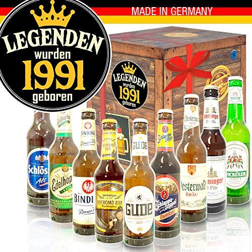 Legenden 1991 ++ Biersorten aus Deutschland ++ 1991 Geschenkpaket