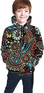 Beautiful Flower Floral Kids/Teen Girls' Boys' Hoodies,3D Print Pullover Sweatshirts