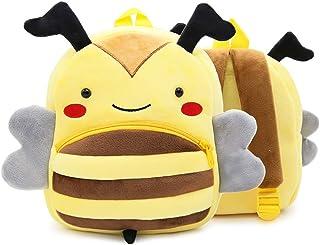 Kids Backpacks, Cute Toddler Backpack Toddler Bag, Children's Schoolbags, Plush Animal Bag Cartoon Backpack for Kindergart...