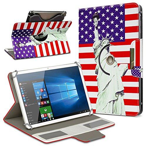 UC-Express Universal Tablet Schutz Hülle 10-10.1 Zoll Tasche Schutzhülle Motiv Case Cover, Motiv:Motiv 4, Tablet Modell für:Medion Lifetab X10300