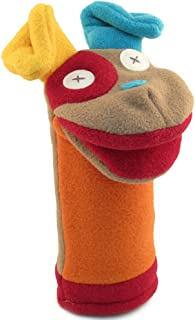 Cate and Levi - Polar Fleece Hand Puppet - Handmade in Canada - (Dog)