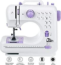 AGM Portable Sewing Machine, 12 Stitches 2 Speed Heavy Duty Sew Machine, Handheld Quilting Embroidery Overlock Quick Sewing Machine