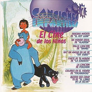 """Canciones Infantiles """"El Cine de los Niños"""", Vol. 7"""