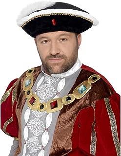 Men's Henry VIII Hat One Size Multicoloured